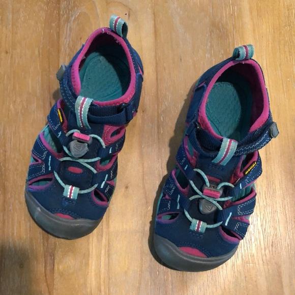 Keen Shoes | Girls Water Bluepink 13